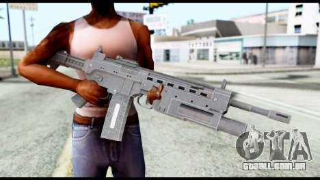 M4 from Resident Evil 6 para GTA San Andreas terceira tela
