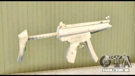 MP5 com estoque para GTA San Andreas segunda tela