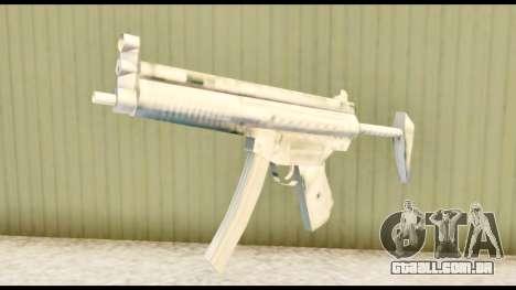 MP5 com estoque para GTA San Andreas