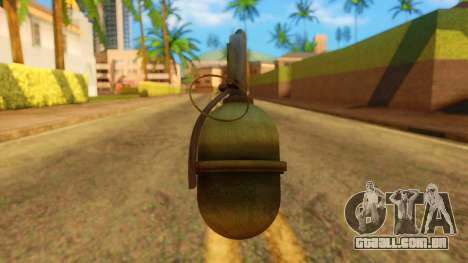 Atmosphere Grenade para GTA San Andreas
