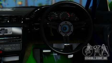Nissan Skyline GT-R R32 para GTA San Andreas traseira esquerda vista