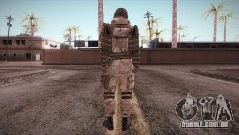 Armored Soldier para GTA San Andreas terceira tela