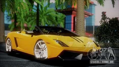 Lamborghini Gallardo LP570-4 Spyder 2012 para GTA San Andreas