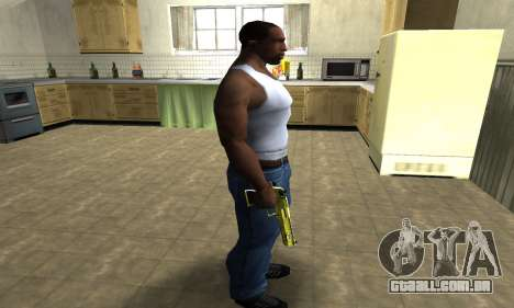 Sponge Bob Deagle para GTA San Andreas terceira tela