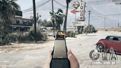 GTA 5 Combat HUD 1.0.2 segundo screenshot