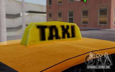 Ford Crown Victoria Taxi para GTA San Andreas vista direita