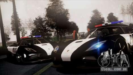 NFS Rivals Koenigsegg Agera R para GTA San Andreas