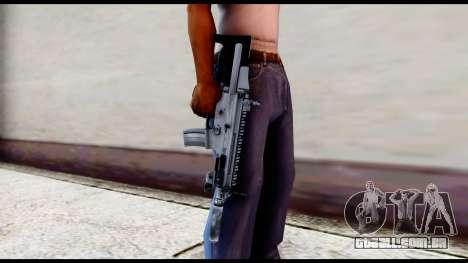 MK16 PDW Standart Quality v2 para GTA San Andreas terceira tela