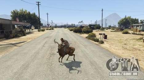 GTA 5 Ride A Deer [.NET] 0.2b quinta imagem de tela