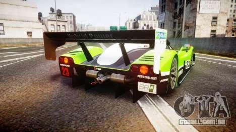 Radical SR8 RX 2011 [23] para GTA 4 traseira esquerda vista