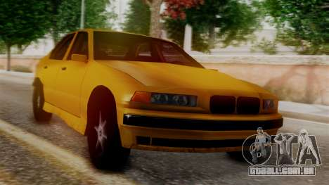 BMW M3 E36 SA Style para GTA San Andreas