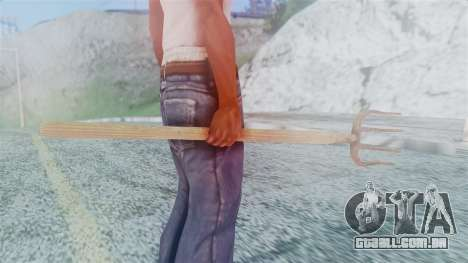 Red Dead Redemption Pitchfork para GTA San Andreas terceira tela