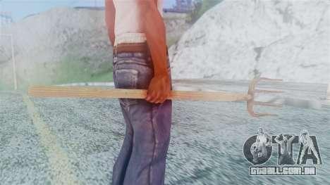 Red Dead Redemption Pitchfork para GTA San Andreas terceira tela