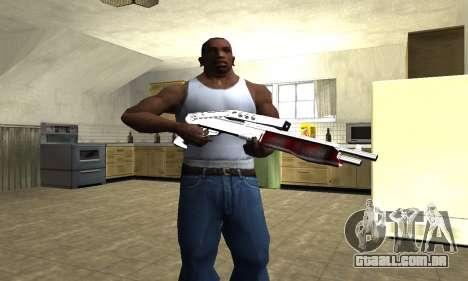 Blood Combat Shotgun para GTA San Andreas terceira tela