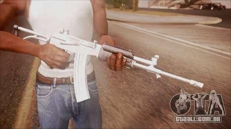 Galil AR v2 from Battlefield Hardline para GTA San Andreas terceira tela