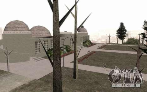 Árvores sem folhas para GTA San Andreas terceira tela