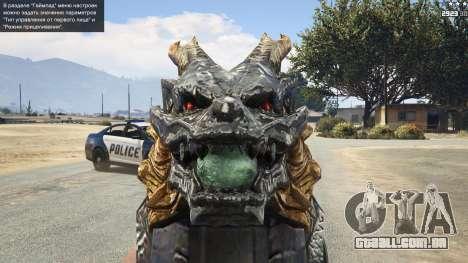 GTA 5 CFs Thompson Infernal Dragon quinta imagem de tela