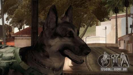 COD Ghosts - Riley Skin para GTA San Andreas