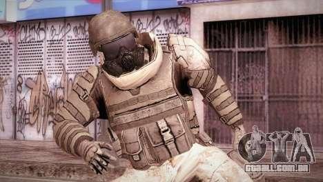 Armored Soldier para GTA San Andreas