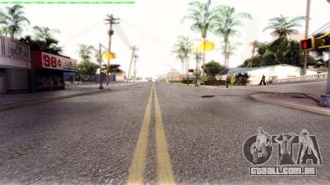 Dark ENB Series para GTA San Andreas quinto tela