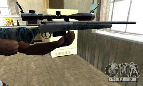 Mini Water Time Sniper Rifle para GTA San Andreas segunda tela