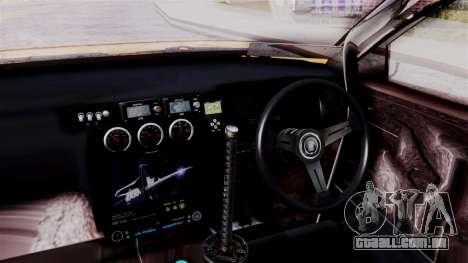 Toyota Aristo para GTA San Andreas vista direita