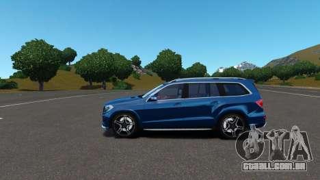Mercedes-Benz GL 63 AMG para GTA 4 vista lateral