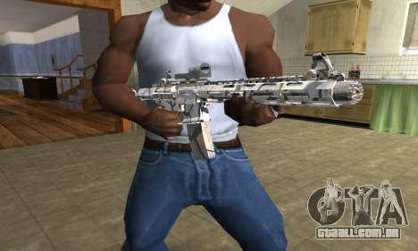 Grade M4 para GTA San Andreas terceira tela
