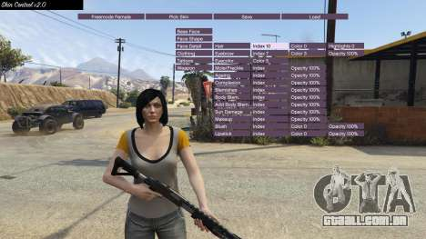 GTA 5 Skin Control 2.0 quarto screenshot