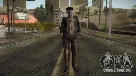 RE4 Don Diego without Hat para GTA San Andreas segunda tela