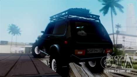 VAZ 2121 Niva Offroad para GTA San Andreas esquerda vista