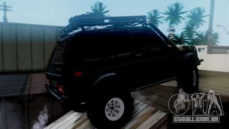 VAZ 2121 Niva Offroad para GTA San Andreas traseira esquerda vista