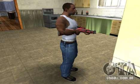 Blood Shotgun para GTA San Andreas terceira tela