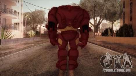 Classic Hulkbuster para GTA San Andreas terceira tela