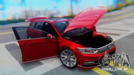 Volkswagen Passat Variant R-Line para vista lateral GTA San Andreas