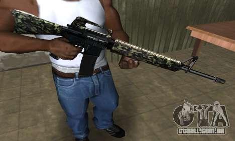 Military M4 para GTA San Andreas