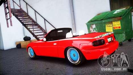 Mazda MX-5 modified [EPM] para GTA 4 esquerda vista