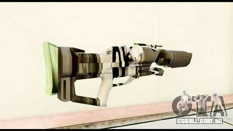 Rocket Launcher from Crysis 2 para GTA San Andreas segunda tela