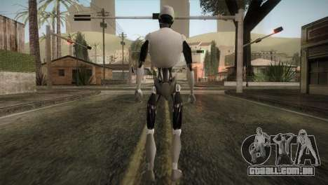 I am a Robot Skin para GTA San Andreas terceira tela