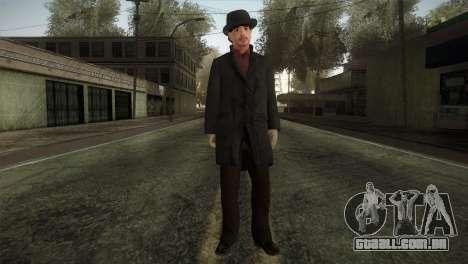 Sherlock Holmes v2 para GTA San Andreas segunda tela