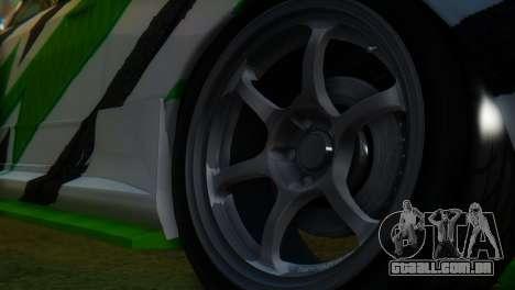 Nissan Skyline GT-R R32 para GTA San Andreas vista direita