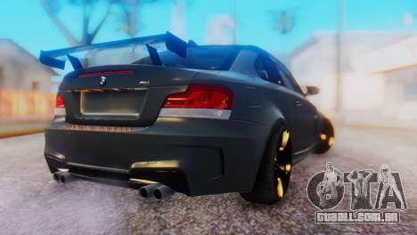 BMW M1 Tuned para GTA San Andreas esquerda vista
