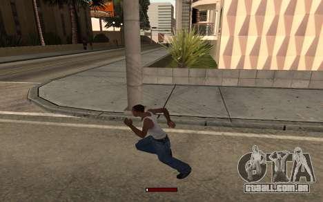 SprintBar para GTA San Andreas terceira tela