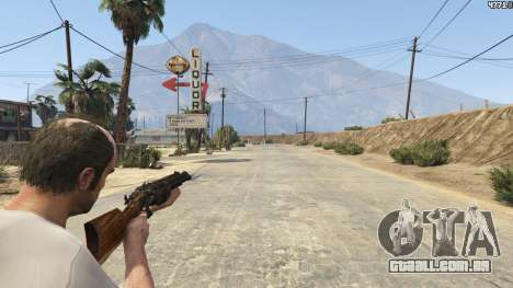 GTA 5 Mob of the Dead Blundergat terceiro screenshot