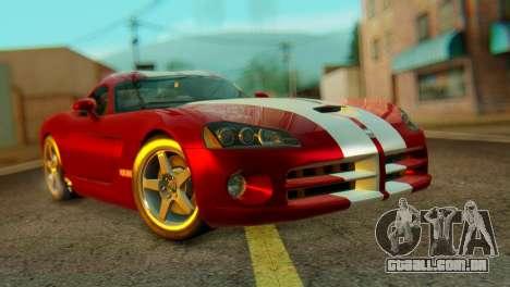 Dodge Viper SRT10 para GTA San Andreas