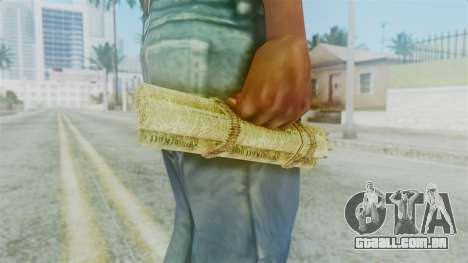 Red Dead Redemption Satchel para GTA San Andreas segunda tela