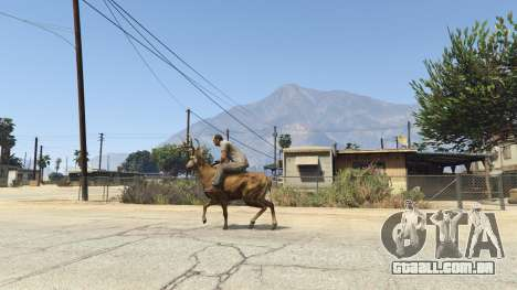 Ride A Deer [.NET] 0.2b para GTA 5
