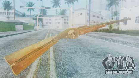Red Dead Redemption Rifle para GTA San Andreas segunda tela