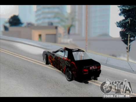 Elegy Lumus para o motor de GTA San Andreas