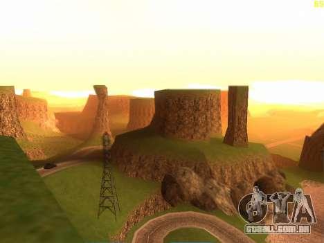 Verde deserto de Las Venturas v2.0 para GTA San Andreas